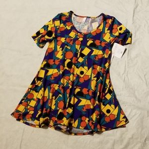 Lularoe perfect T XS primary colors
